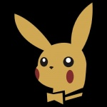 3d4d ambiguous_gender black_background fur logo low_res mammal mascot nintendo pikachu playboy pokémon restricted_palette rodent simple_background solo video_games yellow_fur  Rating: Safe Score: 63 User: NSFW Date: March 06, 2012