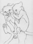 anal anal_fingering bestiality cub feline female feral fingering interspecies kinyama lion mammal pussy sex sketch young   Rating: Explicit  Score: 7  User: Fuzza  Date: April 20, 2014