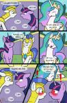 ! 2015 blush caluriri comic english_text equine female feral friendship_is_magic group horn horse mammal my_little_pony pony princess_celestia_(mlp) royal_guard_(mlp) smile text twilight_sparkle_(mlp) winged_unicorn wings   Rating: Safe  Score: 11  User: Sneaky  Date: March 21, 2015