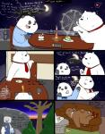 2015 anthro bear black_fur bow_tie clothing comic cute dialogue duo english_text fur graft_(artist) grizzly_(character) grizzly_bear ice_bear male male/male mammal multicolored_fur panda panda_(character) polar_bear restaurant smile text two_tone_fur we_bare_bears white_fur  Rating: Safe Score: 3 User: Kennai Date: October 07, 2015