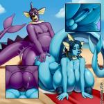 absurd_res all_fours anal anal_penetration anthro anus balls beach big_breasts breasts curvaceous dickgirl dickgirl/male doggystyle duo eeveelution erection fortunefox from_behind_position hi_res huge_breasts humanoid_penis hybrid hyper hyper_breasts intersex intersex/male male male_penetrating nintendo nipples nude outside penetration penis pokémon pokémon_(species) precum puffy_anus seaside sex slightly_chubby smile thick_thighs vaporeon video_gamesRating: ExplicitScore: 6User: Cat-in-FlightDate: March 11, 2019