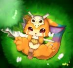 2014 arthropod butterfly cub cute feral fur gnar_(league_of_legends) insect league_of_legends male mammal skull solo taiyooh_(artist) teeth video_games weapon wings young   Rating: Safe  Score: 4  User: zekromlover  Date: March 27, 2015