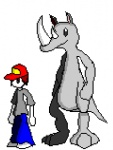 ambiguous_gender animated bulge burping digestion drooling human low_res male mammal rhinoceros rogerrog saliva struggling swallowing vore   Rating: Safe  Score: 2  User: Frostking23  Date: October 06, 2011