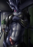 blue_skin censored clothing dragon ineffective_censorship looking_at_viewer male penis scalie solo tamaryuu tongue tongue_out undressing  Rating: Explicit Score: 2 User: Arkham_Horror Date: June 05, 2015