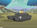 4:3 allied applejack_(mlp) command_and_conquer day earth_pony equine female feral friendship_is_magic horse mammal my_little_pony outside pony red_alert sky solo tank unknown_artist vehicle