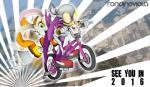 2015 anthro avian bandanna beak bicycle bird clothed clothing cream_the_rabbit deviantart duo english_text eyewear female footwear gloves lagomorph looking_at_viewer mammal open_mouth outside pants rabbit rondineviola shoes smile sonic_(series) sonic_riders sunglasses swallow_(bird) teeth text watermark wave_the_swallow  Rating: Safe Score: 3 User: DeltaFlame Date: March 03, 2016