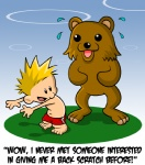 bear calvin calvin_and_hobbes english_text human imminent_rape mammal meme pedobear sweat swimsuit text unknown_artist   Rating: Questionable  Score: 7  User: Pink-Tricycle  Date: December 18, 2010
