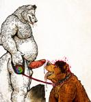 bear canine dramamine duo erection fox fur hypnosis leash male male/male mammal mind_control penis precum white_fur   Rating: Explicit  Score: 10  User: furfagfindergeneral  Date: May 22, 2015
