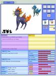 2015 alternate_color ambiguous_gender eevee eeveelution fakémon fan_character feral flareon mammal nintendo pitch-black-crow pokémon sahageon shiny_pokémon solo vaporeon video_games  Rating: Safe Score: 0 User: Icicle_The_Glaceon Date: December 07, 2015
