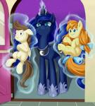 angry blue_eyes blue_feathers bow brown_feathers brown_hair child crown cub door dstears equine feathered_wings feathers female feral friendship_is_magic fur glowing group hair hair_bow hair_ribbon horn long_hair looking_at_viewer magic male mammal my_little_pony night open_mouth outside pegasus pound_cake_(mlp) princess_luna_(mlp) pumpkin_cake_(mlp) ribbons royalty smile star tail_bow tail_ribbon unicorn winged_unicorn wings youngRating: SafeScore: 110User: DeatronDate: October 09, 2013