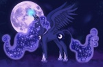 donkey equine female feral friendship_is_magic hikari-dareigan horn mammal moon my_little_pony princess princess_luna_(mlp) royalty solo star winged_unicorn wings   Rating: Safe  Score: 2  User: Sods  Date: November 29, 2012