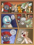 comic eeveelution female flareon gardevoir male mienshao nintendo pokémon pokémon_(species) racingwolf_(artist) raichu scither squirtle video_games weavile