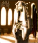 2002 anthro breasts clothed clothing dragon female green_scales horn inside light markie nun orange_eyes rope scalie slit_pupils solo wings yellow_scales   Rating: Safe  Score: 1  User: GameManiac  Date: April 14, 2015