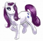 2012 blue_eyes cutie_mark equine female feral friendship_is_magic hair horn mammal my_little_pony plain_background purple_hair rarity_(mlp) shivra sketch smile solo unicorn   Rating: Safe  Score: 1  User: Sods  Date: November 18, 2012