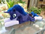 clothing cutie_mark equine female feral friendship_is_magic hi_res horn jaiyikendra legwear mammal my_little_pony plushie princess princess_luna_(mlp) real royalty socks solo winged_unicorn wings  Rating: Safe Score: 12 User: JaiLeiNeysa Date: July 21, 2014
