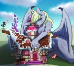 2015 anthro anthrofied avante92 bat_pony bipedal blonde_hair breasts building candy_cane claws cloud derpy_hooves_(mlp) door equine female friendship_is_magic hair licking looking_at_viewer macro mammal my_little_pony nude outside pegasus ponyville pussy sky solo sugarcube_corner tongue tongue_out window wings yellow_eyes   Rating: Explicit  Score: 25  User: lemongrab  Date: January 17, 2015