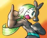 ambiguous_gender legendary_pokémon looking_at_viewer meloetta nintendo pokémon solo video_games yilx  Rating: Safe Score: 3 User: DeltaFlame Date: February 09, 2015
