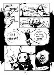 2014 annoyed black_and_white blush cave comic dark english_text feral monochrome nintendo pikachu pokémon poochyena scarf text tom_smith torch video_games   Rating: Safe  Score: 0  User: Lizardite  Date: April 22, 2014