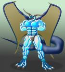 abs anthro biceps burly claws dragon lizard monster muscular pecs reptile scales scalie sharp shredded  Rating: Safe Score: -4 User: MrD66 Date: February 08, 2016