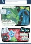 changeling comic english_text equine female friendship_is_magic horn mammal my_little_pony pablofiorentino queen_chrysalis_(mlp) text trixie_(mlp) tumblr unicorn wings  Rating: Safe Score: 5 User: darknessRising Date: March 04, 2014