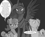 2016 angry dialogue earth_pony english_text equine fan_character female feral friendship_is_magic group horn horse male mammal my_little_pony pegasus pony princess_celestia_(mlp) silfoe text winged_unicorn wings  Rating: Safe Score: 13 User: Robinebra Date: January 08, 2016