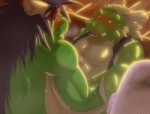 anal anal_penetration biceps big_muscles blush chinese_dragon chubby dragon duo father father_and_son green_skin hair horn incest male male/male morenatsu muscles parent pecs penetration penis scalie sex son tappei tatsuki teeth yell0w_f0x  Rating: Explicit Score: 5 User: toboe Date: July 07, 2012""