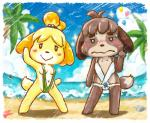 animal_crossing balloon beach blush breasts canine digby_(animal_crossing) dog donburi female isabelle_(animal_crossing) male mammal nintendo seaside video_games   Rating: Questionable  Score: 6  User: Juni221  Date: March 13, 2014
