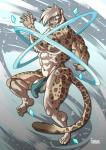anthro balls bulge clothed clothing feline furious leopard male mammal muscular penis_base skimpy snow_leopard solo  Rating: Explicit Score: 1 User: Vinea Date: October 27, 2015