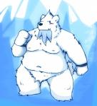 2013 anthro beartic belly blush cute_fangs fur male moobs navel nintendo nipples overweight overweight_male pokémon pokémon_(species) snow_utamaru solo video_games white_furRating: SafeScore: 2User: mapachitoDate: March 24, 2019