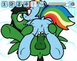 2018 5:4 animal_genitalia balls blue_feathers blush cum cum_inside digital_media_(artwork) duo equine erection fan_character feathered_wings feathers female feral friendship_is_magic fur hair horse male male/female mammal multicolored_hair my_little_pony nude penetration penis pokefound pony pussy rainbow_dash_(mlp) rainbow_hair sex simple_background smile wingsRating: ExplicitScore: 6User: PokefoundDate: July 15, 2018