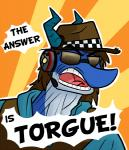 2018 anthro blue_body borderlands brown_hair captainzepto clothed clothing digital_media_(artwork) dragon english_text eyewear hair hat headphones headset lol_comments male mister_torgue_flexington navarchus_zepto open_mouth outline reaction_image simple_background solo sunglasses text tongue video_games yelling