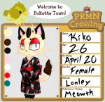 animal_crossing anthro avian beak bird cat clothing color_swatch crossover duo english_text feathers feline female fur japanese_clothing kimono looking_at_viewer lovelesskia makeup mammal meowth nintendo pokémon solo_focus text video_games wings   Rating: Safe  Score: 1  User: Deatron  Date: November 10, 2013