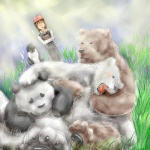bear blush chubby female fur grizzly_bear hair human male mammal panda playing polar_bear unknown_artist wrestling   Rating: Questionable  Score: 1  User: toboe  Date: May 26, 2013