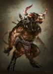 abs andyparkart anthro armor belt biceps blood bolts bovine brown_fur cattle chain clothed clothing cuffs fangs fur half-dressed hooves horn loincloth male mammal minotaur monster muscles necklace nipples pecs pose ring solo standing teeth topless underwear   Rating: Questionable  Score: 3  User: Robinebra  Date: October 21, 2012