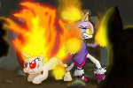 2011 anthro blaze_the_cat cat clothing crossover duo equine feline female feral fire flaming_hair friendship_is_magic fur hair horn mammal my_little_pony purple_fur red_eyes s216barber sonic_(series) twilight_sparkle_(mlp) unicorn  Rating: Safe Score: 1 User: Sods Date: November 12, 2012