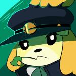 1:1 2018 2d_animation animal_crossing animated anthro black_nose canid canine canis clothing cosplay crossover domestic_dog female floppy_ears fur hat headgear headwear isabelle_(animal_crossing) jojo's_bizarre_adventure logo mammal nintendo rainbow_caliber shih_tzu solo super_smash_bros. toy_dog video_games yellow_furRating: SafeScore: 71User: Cane751Date: December 08, 2018