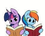 2014 <3 ambris animated blue_fur book cheek_kiss duo equine eyes_closed female female/female feral friendship_is_magic fur hair horn kissing mammal multicolored_hair my_little_pony open_mouth pegasus purple_fur rainbow_dash_(mlp) reading smile smirk spread_wings suggestive surprise twilight_sparkle_(mlp) two_tone_hair wing_boner winged_unicorn wings   Rating: Safe  Score: 31  User: anthroking  Date: January 08, 2014
