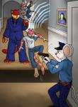 aggrobadger cat feline group gun mammal mappy mouse museum police ranged_weapon rodent suit weapon  Rating: Safe Score: -4 User: tartcore Date: July 11, 2015