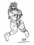 astronaut boo3 breasts bulge clothes_stretching dickgirl gender_transformation growth human intersex mammal solo transformation  Rating: Questionable Score: 0 User: Boo3 Date: March 15, 2014