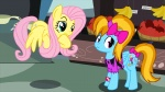 2012 animated apple banana basket blue_fur bow bracelet clothing cosplay cutie_mark detailed_background disguise equine eye_contact female feral fluttershy_(mlp) flying food friendship_is_magic fruit fur green_eyes hair jewelry long_hair mammal multicolored_hair my_little_pony orange_hair pegasus pink_hair purple_eyes rainbow_dash_(mlp) shirt two_tone_hair twodeepony wig wings yellow_fur  Rating: Safe Score: 4 User: Rainbow_Dash Date: June 17, 2012