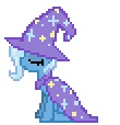 alpha_channel animated cape desktop_ponies equine female feral friendship_is_magic hat horse my_little_pony plain_background pony solo sprite transparent_background trixie_(mlp) yamino   Rating: Safe  Score: 5  User: Ohnine  Date: July 12, 2011