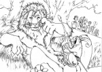 anthro aslan balls chronicles_of_narnia cum cumshot feline furryrevolution interspecies licking lion male male/male mammal mouse orgasm penis penis_hug reclining reepicheep rodent sword tongue tongue_out vein weapon   Rating: Explicit  Score: 9  User: unforget  Date: April 04, 2013