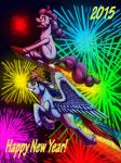 2014 blue_eyes duo earth_pony english_text equine female fireworks flying friendship_is_magic hair horse inuhoshi-to-darkpen mammal multicolored_hair my_little_pony pegasus pinkie_pie_(mlp) pony purple_eyes rainbow_dash_(mlp) rainbow_hair text tongue tongue_out wings  Rating: Safe Score: 3 User: 2DUK Date: January 09, 2015