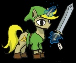 crossover e621 equine feral hat horn link magic male mammal my_little_pony ponification solo soul_devouring_eyes sword the_legend_of_zelda theartrix triforce tunic unicorn video_games weapon wind_waker €   Rating: Safe  Score: 0  User: Big_Macintosh  Date: June 11, 2011