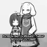 advertisement animated genocide_run lumineko protagonist_(undertale) request_thread toriel undertale  Rating: Safe Score: 5 User: lumineko Date: October 05, 2015