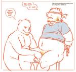anthro artdecade bear blindfold bound clothed clothing do_not_distribute duo facial_hair father father_and_son forced fur hair half-dressed handjob incest male male/male mammal nude open_mouth parent penis pubes rape shirt sitting son uncut  Rating: Explicit Score: 12 User: Sbemail4500 Date: September 26, 2015