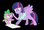 2015 book breasts centaur cutie_mark dm29 dragon duo equestria_girls equine female friendship_is_magic green_eyes hair hooves human magic male mammal my_little_pony scalie spike_(mlp) taur transformation twilight_sparkle_(mlp) wings  Rating: Questionable Score: 5 User: SlayerBVC Date: July 20, 2015