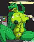 big_breasts breasts dinosaur duo erect_nipples experiment female laboratory muscular muscular_female nipples open_mouth pussy reptile scalie thehyenassbe  Rating: Explicit Score: 6 User: Blazikendude Date: September 26, 2015