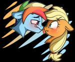 2014 alpha_channel applejack_(mlp) blonde_hair blue_fur blush couple crossgender duo earth_pony equine female friendship_is_magic fur green_eyes hair horse licking male male/female mammal multicolored_hair my_little_pony nolycs pegasus pony purple_eyes rainbow_dash_(mlp) rainbow_hair saliva simple_background tongue tongue_out transparent_background wings  Rating: Safe Score: 10 User: 2DUK Date: December 03, 2014