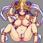 animated anus blue_eyes blue_hair blush bouncing_breasts bracelet breasts crying deity ear_piercing female hair humanoid jewelry lactating multi_limb navel nipples not_furry piercing pubes pussy sb solo tears   Rating: Explicit  Score: 24  User: Juni221  Date: February 08, 2015